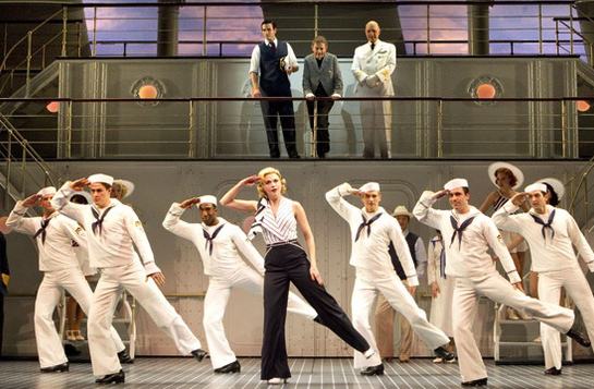 "Sutton Foster in ""Anything Goes"" on Broadway"