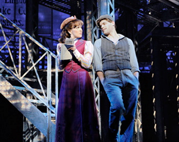 """Newsies the Musical"" on Broadway"