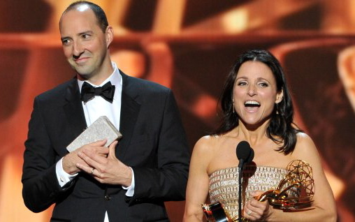 Tony Hale and Julia Louis-Dreyfus: winners in every sense of the word