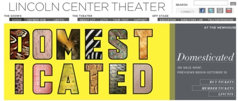 Domesticated, by Bruce Norris, opens at Lincoln Center Theater on November 4.