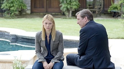 Claire Danes and Martin Donovan in Homeland