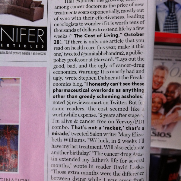 I'm (Sorta!) Published in New York Magazine!