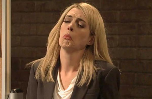 Anne Hathaway as Claire Danes as Carrie Mathison on SNL