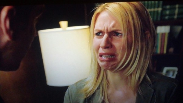 Claire Danes' cry face, winner of three Emmy awards
