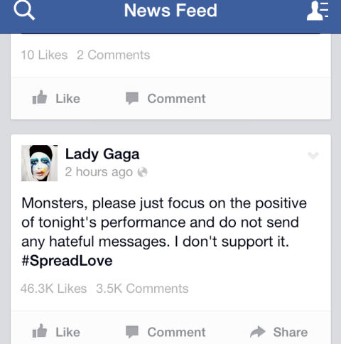 Lady Gaga, Motherly Master of Confidence and Self-Assurance