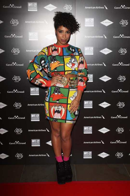 Lianne La Havas at MTV's Staying Alive 15th Anniversary Gala