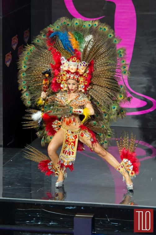 Nastassja Bolivar aka Miss Nicaragua at the Miss Universe 2013 Beauty Pageant