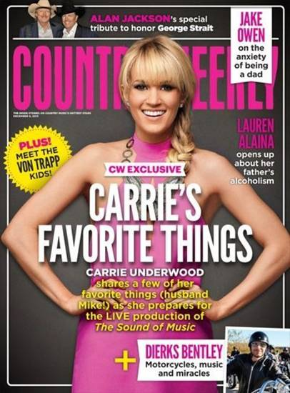 Carrie Underwood Country Weekly