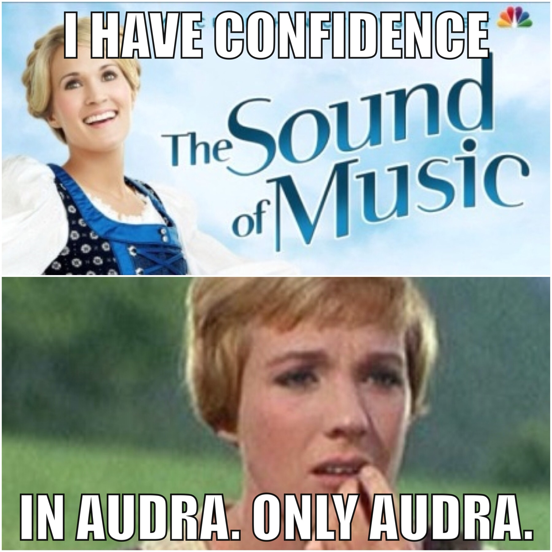 """Funny Meme Live Music : In preparation for nbc s """"the sound of music live a"""