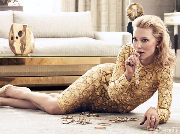 Cate Blanchett Vogue