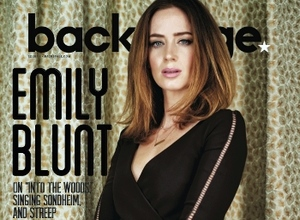 Emily Blunt on Backstage