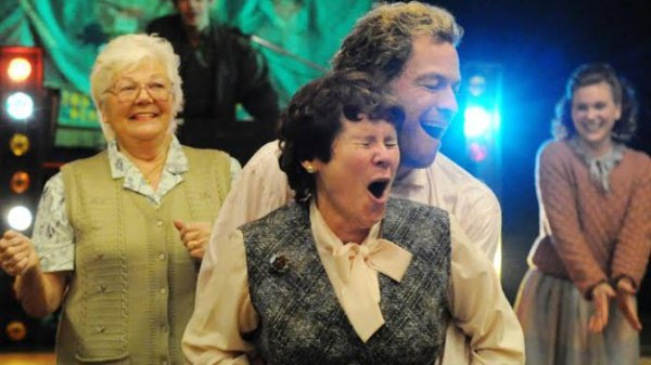 Dominic West and Imelda Staunton